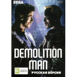 Картридж SEGA Demolition Man (русская версия)